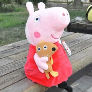 New Peppa Pig Stuffed Soft Figures Toy Plush Doll 19CM7.5inch Kids Gift