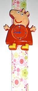 Peppa Pig 3D Toy Figure Slap Watch wStickers