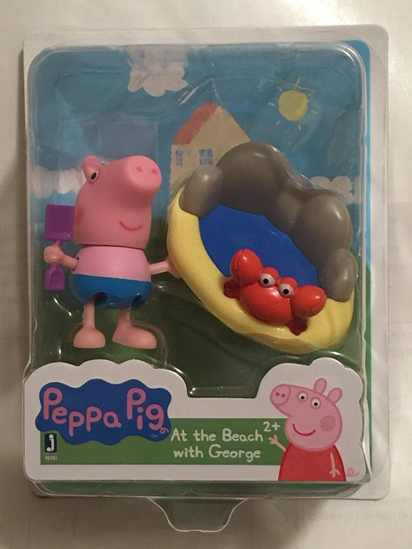 Peppa Pig At the Beach with George