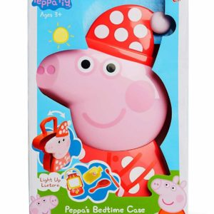 Peppa Pig Bedtime Accessories,Carry Case,Light Up Lantern,Brush,Toothbrush...