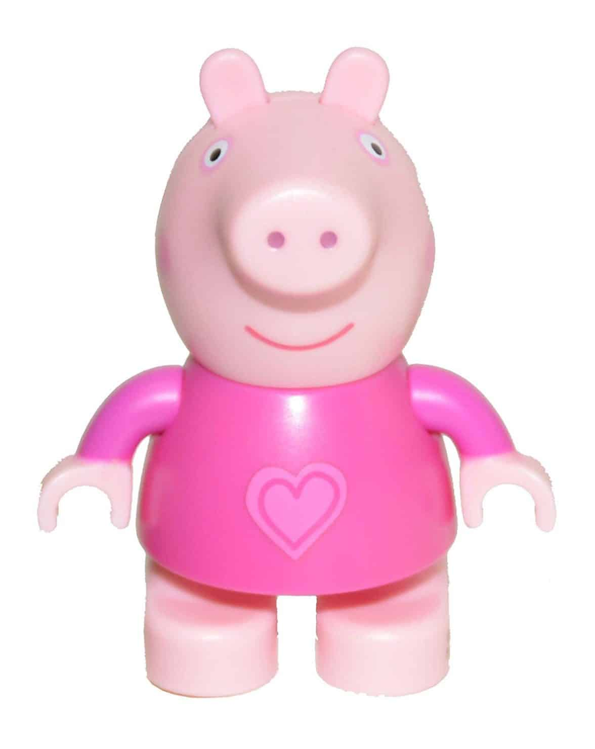 Peppa Pig Build & Play Small Figure Bag - Peppa Pig in Pajamas