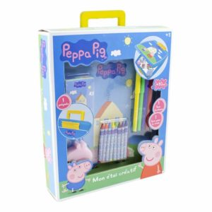 Peppa Pig CPEP015 My Creative Case with 30 Piece Creative Accessory Kit in Blue