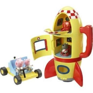 Peppa Pig Deluxe Sound FX Spaceship Explorer Set with Figures