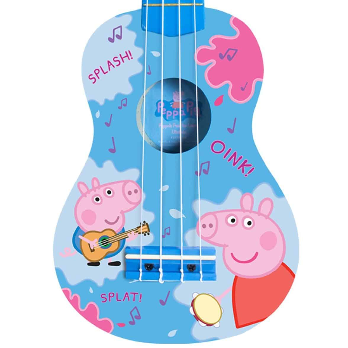Peppa Pig Fun To Learn Ukulele Real Musical Instrument