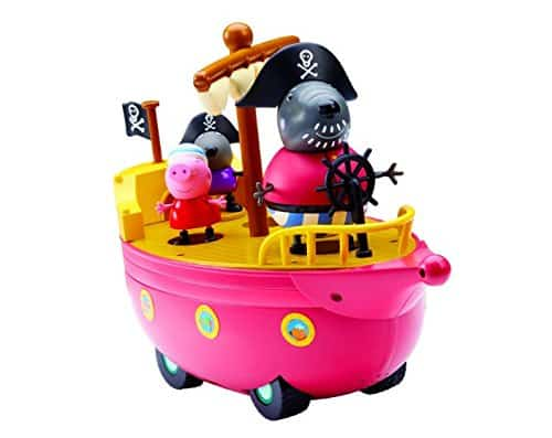 Peppa Pig Grandad's Pirate Ship By Phonograph