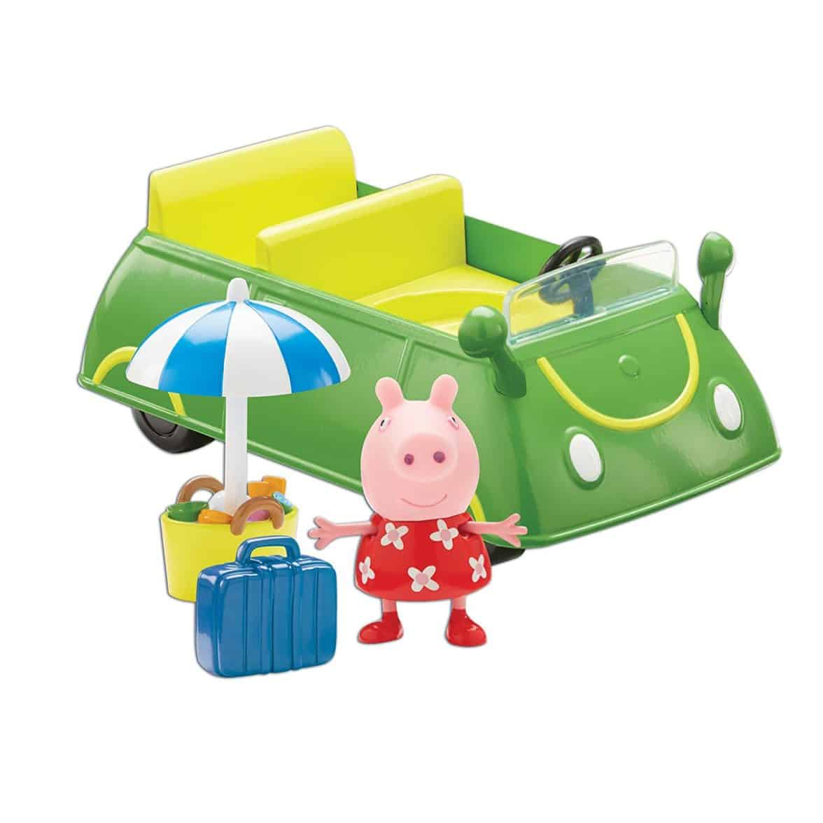 Peppa Pig Holiday Time Holiday Sunshine Vehicle Car With Accessories