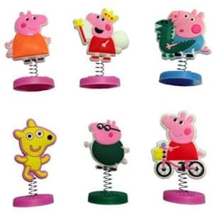 Peppa Pig Mini Figures 6 Pcs Set #1