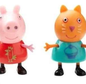 Peppa Pig Theme Park Figures 2 Pack Peppa & Candy
