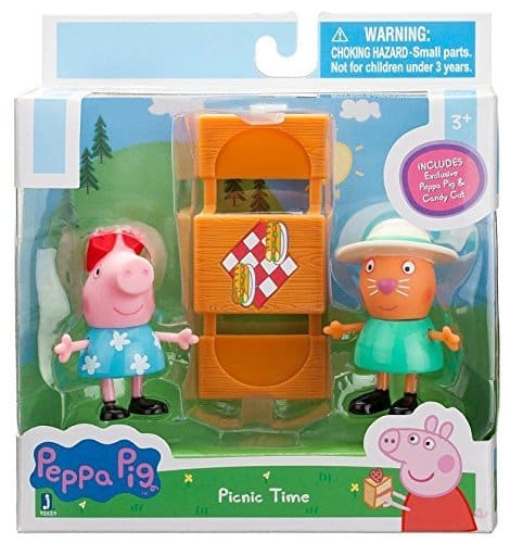 Peppa Pig and Candy Picnic