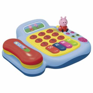 Pink Peppa Pig Piano Phone Telephone