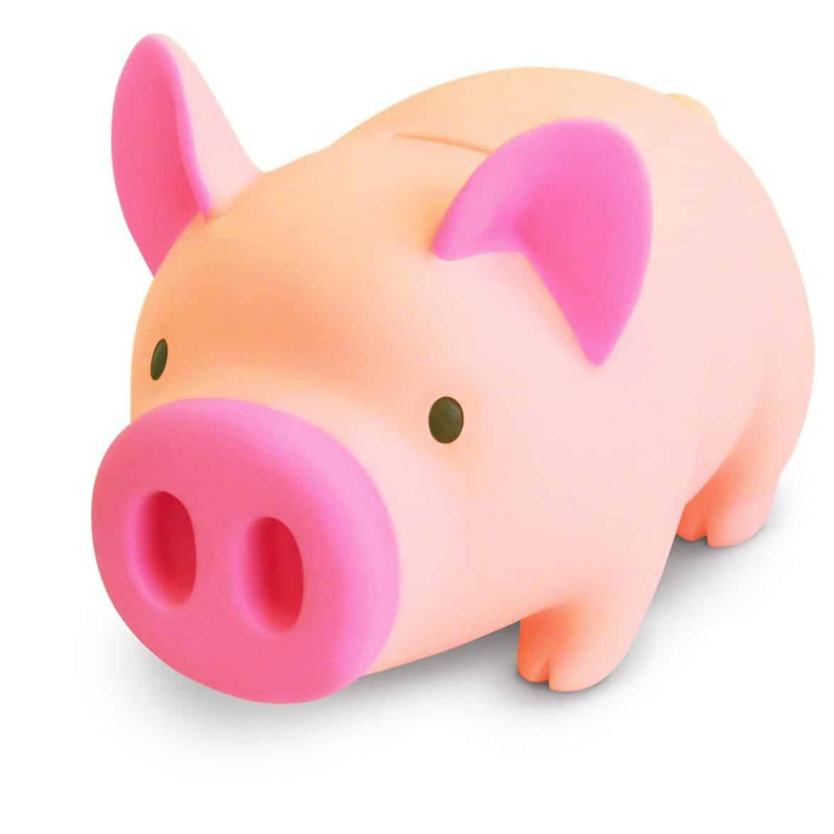 Witty Novelty Hungry Piggy Bank
