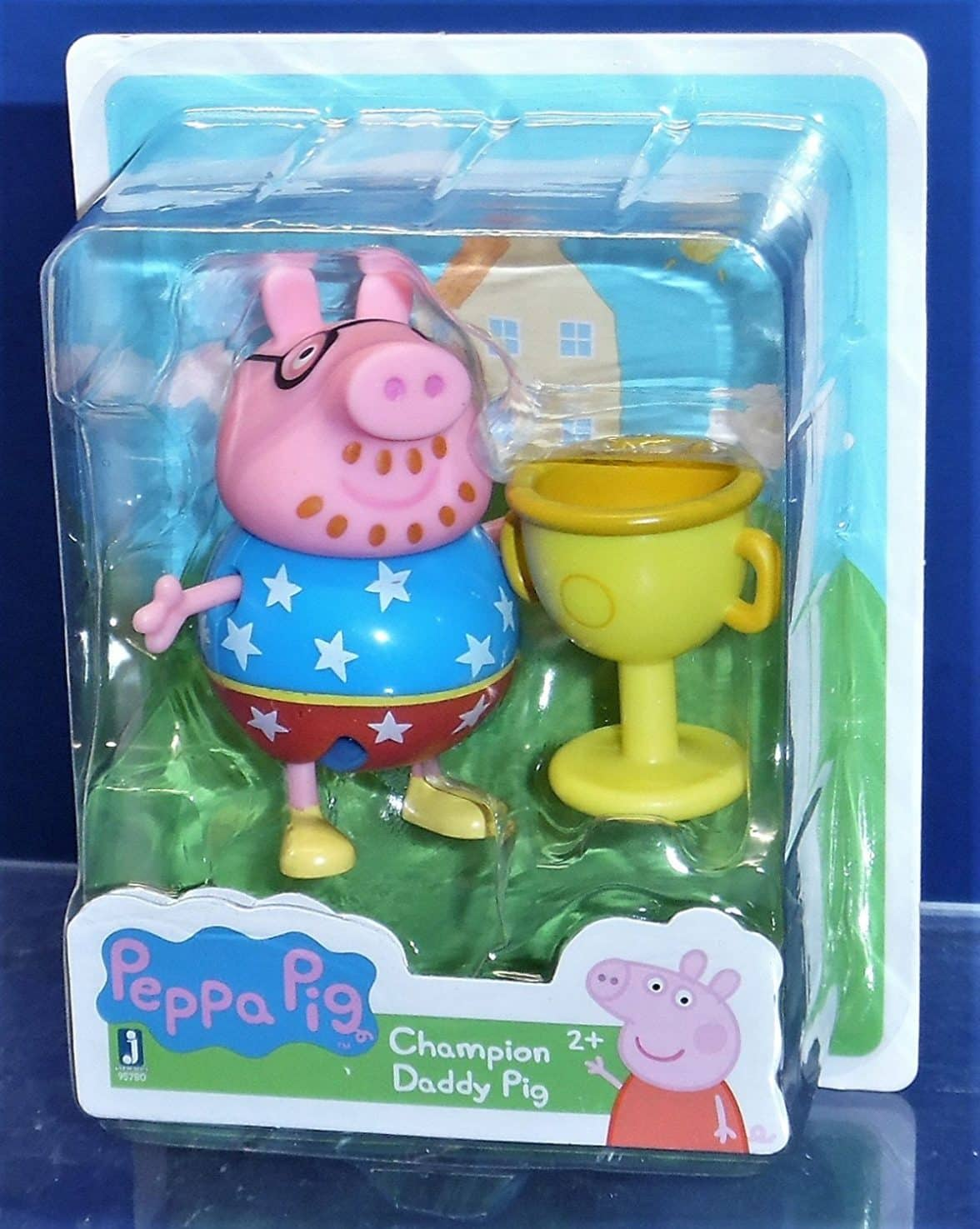 World of Peppa Pig Champion Daddy Pig & Trophy