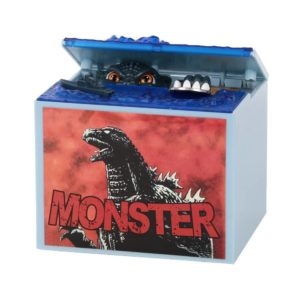 Balai New Monster Movie Musical Moving Electronic Coin Money Piggy Bank Dinosaur Box