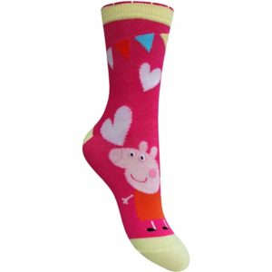 Children's Official Peppa Pig Character Socks