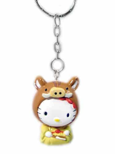 Hello Kitty Chinese Zodiac Keychain - Pig