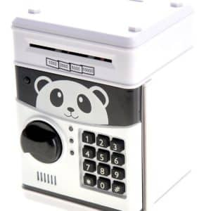PowerTRC Cartoon Panda Electronic Password Piggy Coin Bank