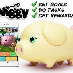 Wiggy Piggy Bank (Ice Cream) Smart Speaking Piggy Bank and Task Tracker